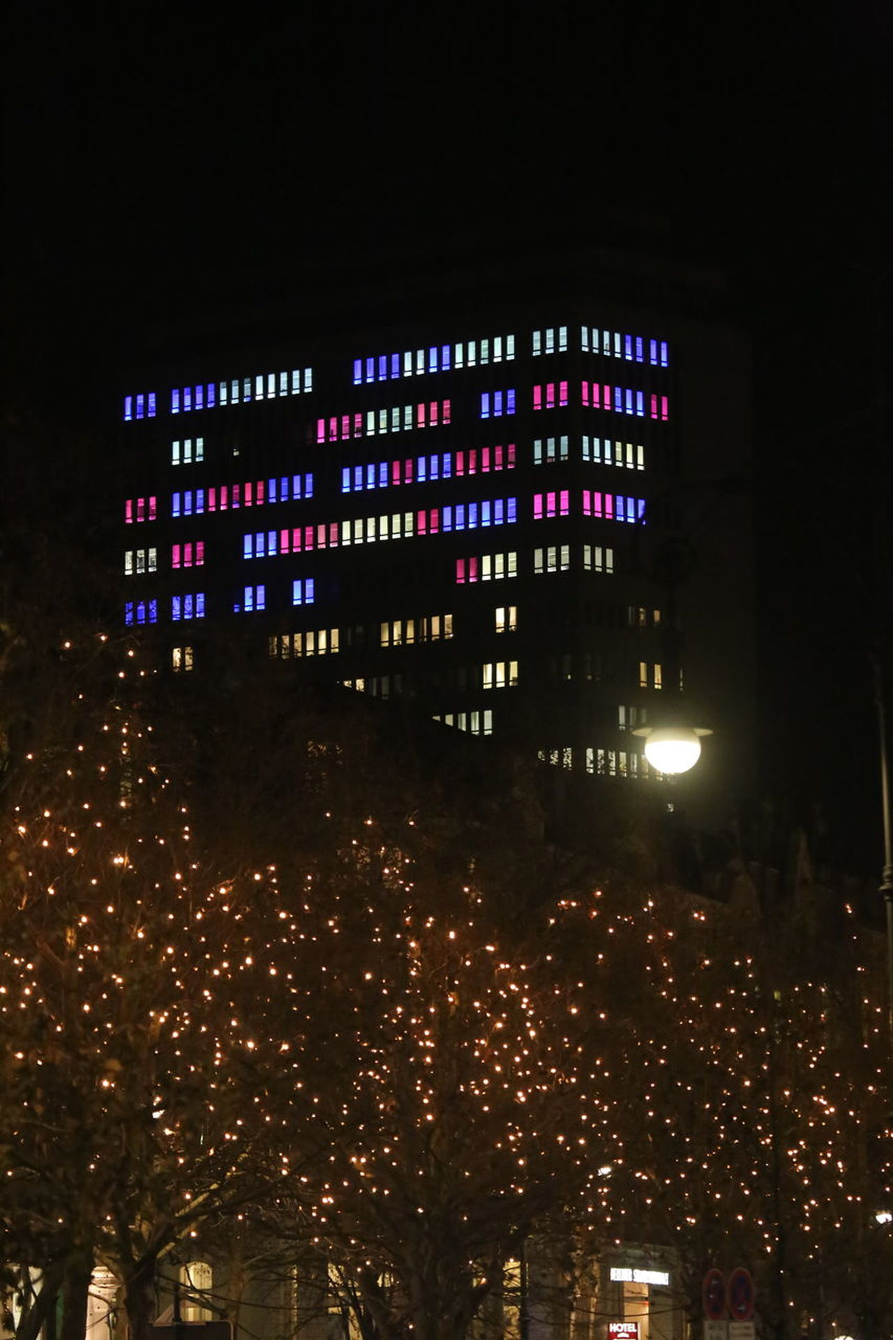 Architecture Building Exterior City Colorful Illuminated Night No People Outdoors Windows