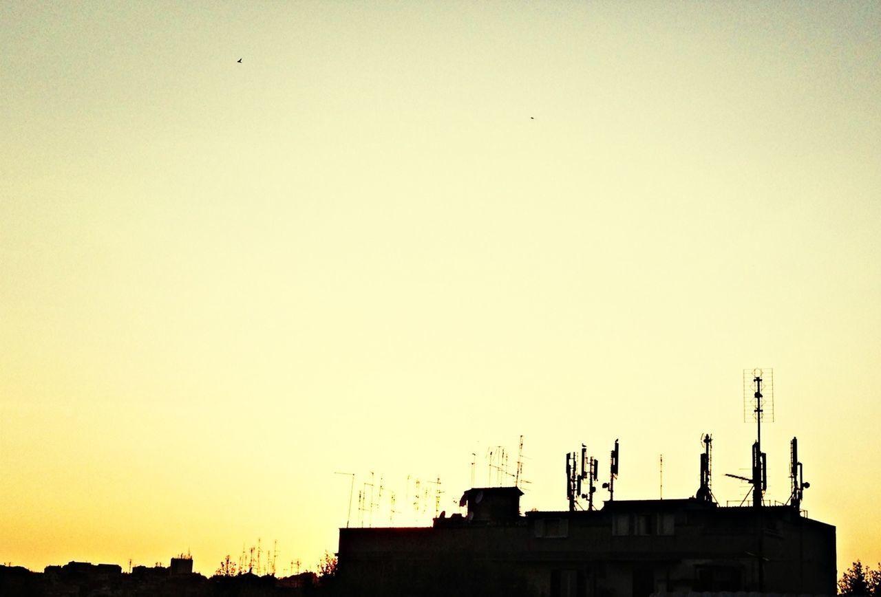 Sunset Skyline Taking Photos
