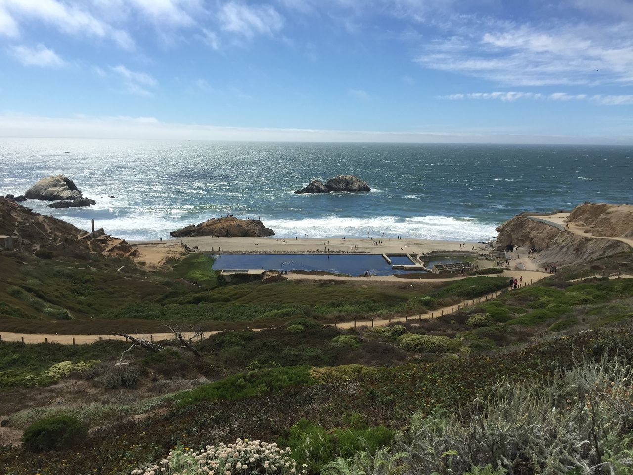 Pretty Sutro Bath Ruins  San Francisco Landscape_Collection Sky California Ocean Nature The Purist (no Edit, No Filter)