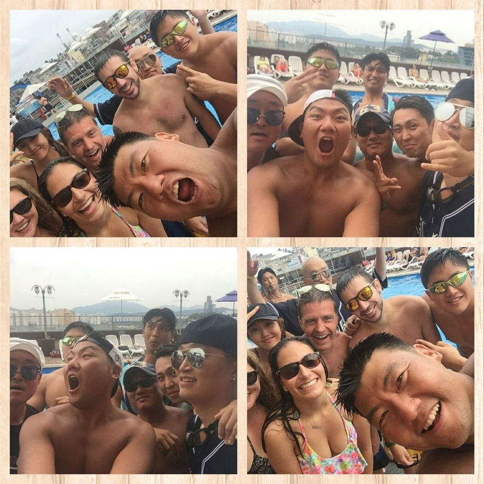 Clubpool Mans Summer Funny Hot Adiós Korea