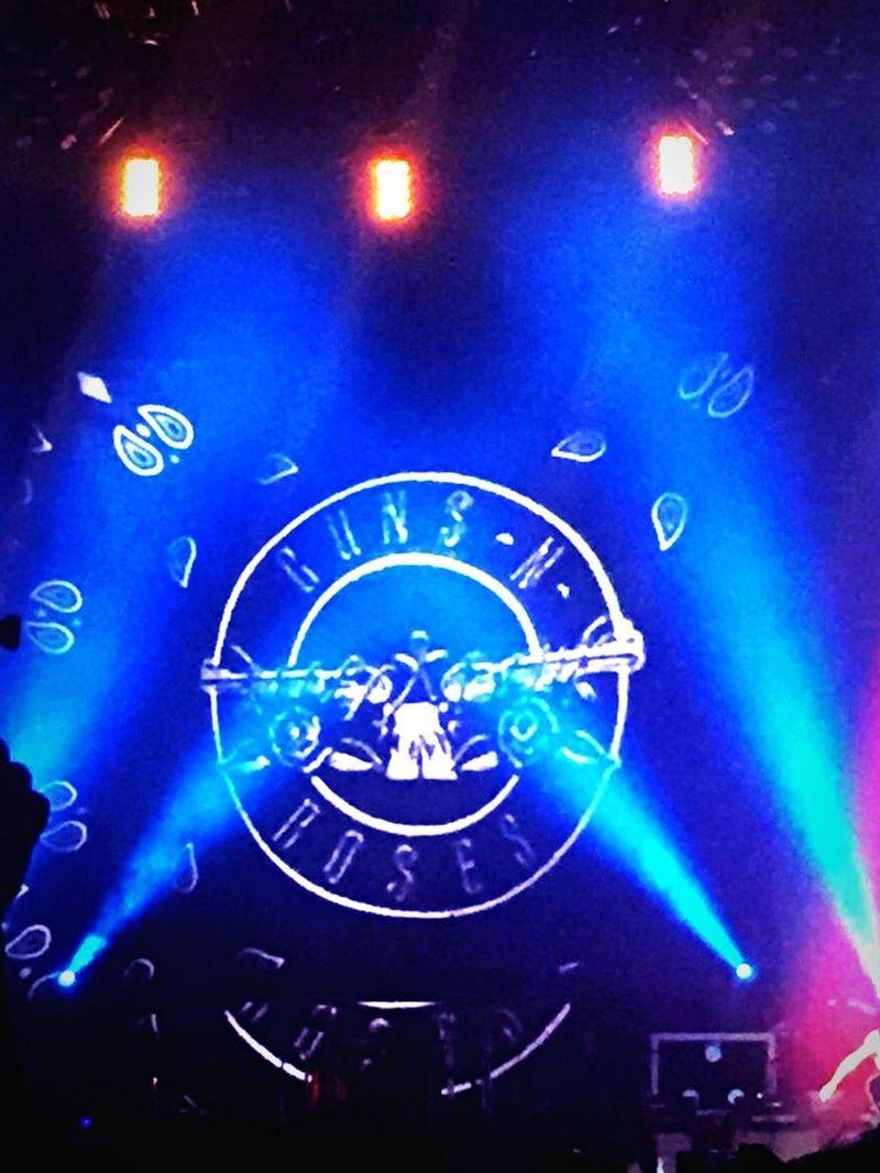 Desde el concierto de mi grupo favorito Guns N' Roses Conciertos Ciudad De México Palaciodelosdeportes