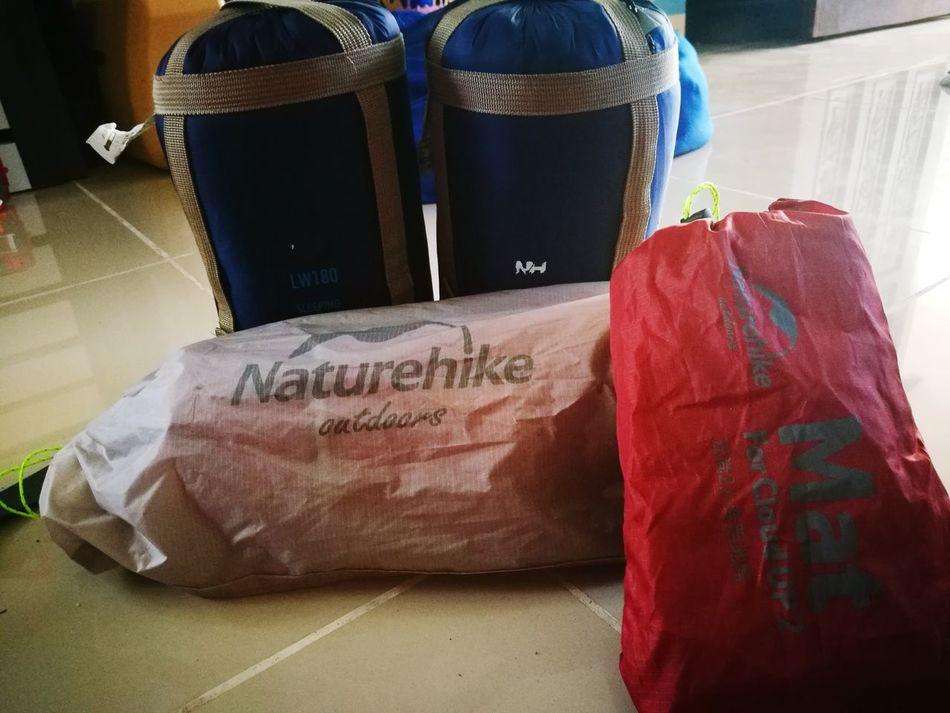 going camping soon.. how i miss it.. Naturehike SleepingBag Sleepingbags Tent