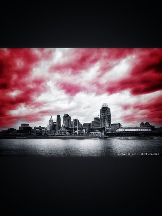 This is my view of Cincinnati Ohio First Eyeem Photo