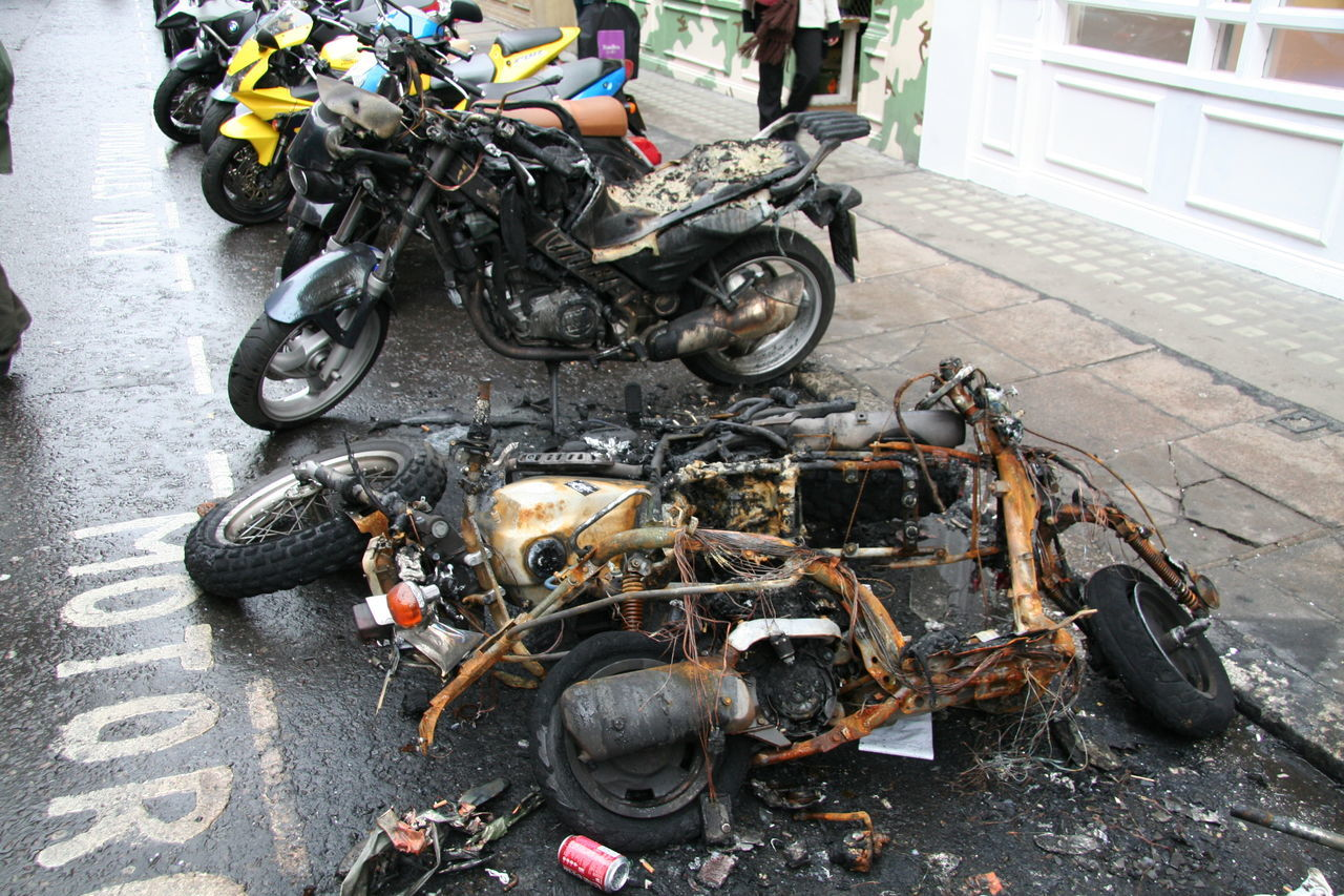 Beautiful stock photos of motorcycle, Abandoned, Bad Condition, Can, Damaged