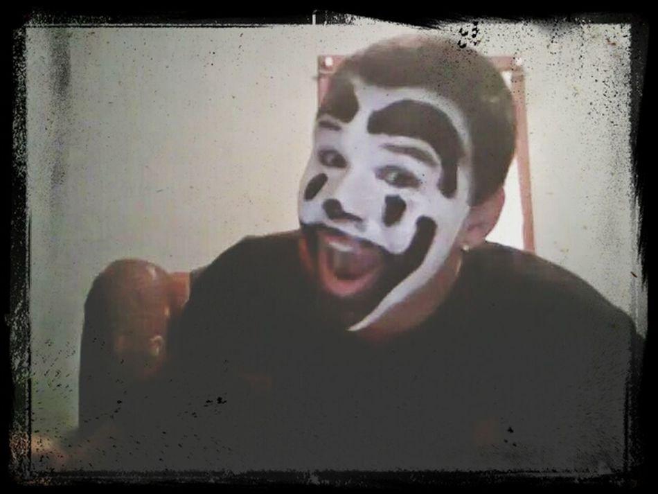 Juggalo Pride Light And Shadow Selfie Enjoying Life
