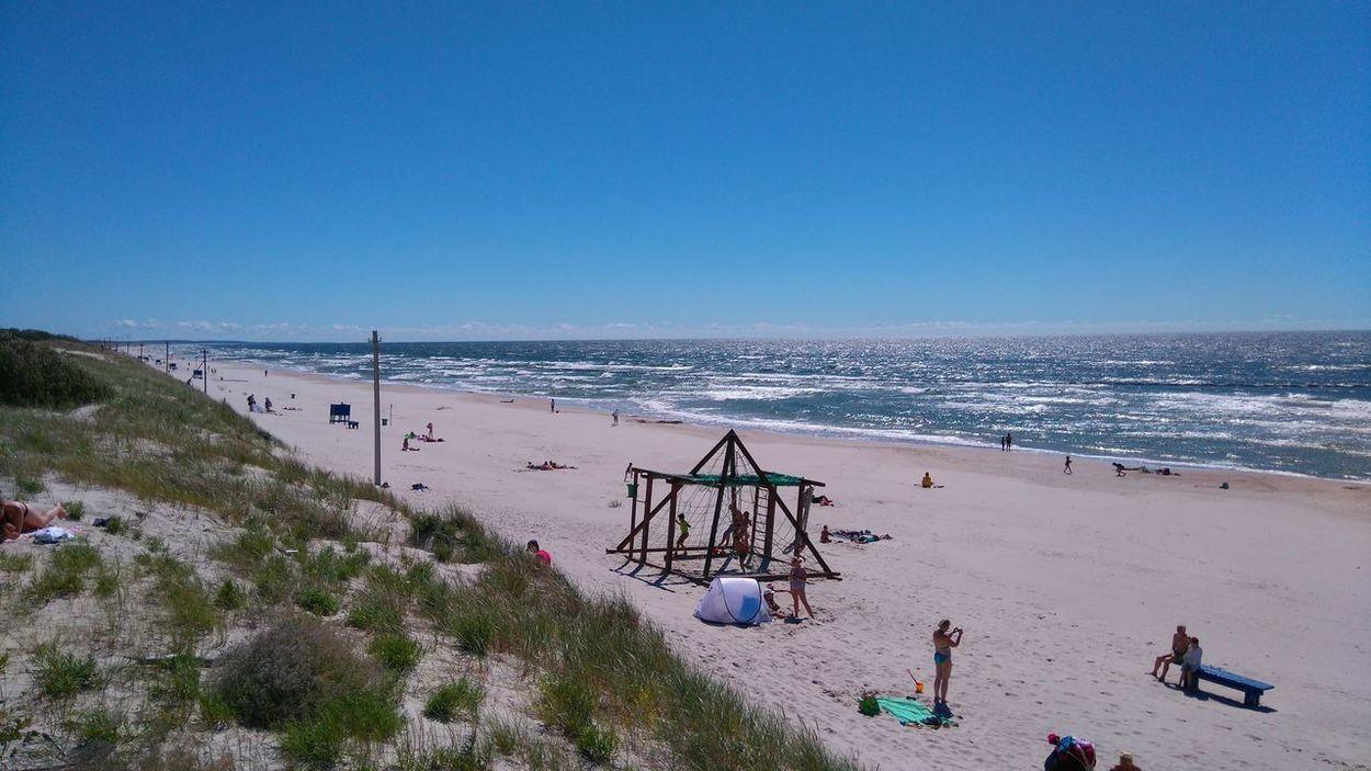 Summer Beach Baltic Sea