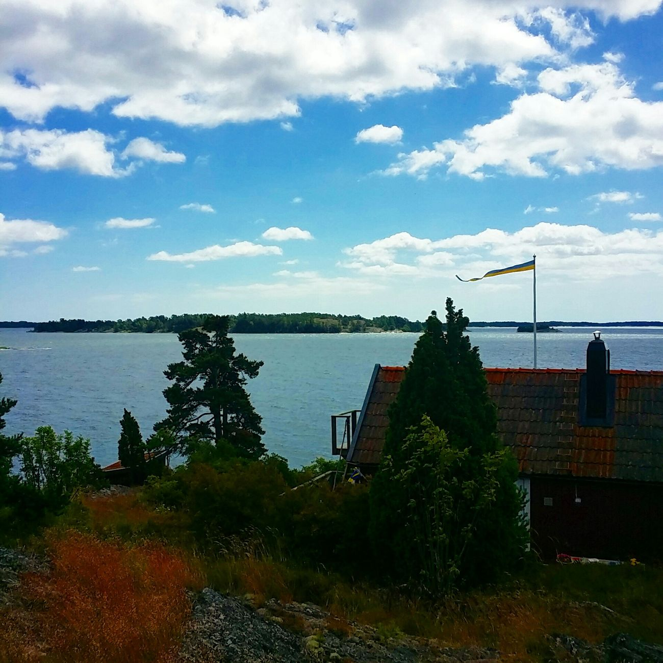 From our beautiful Stockholm archipelago. Check This Out Taking Photos Relaxing Enjoying Life Enjoying The View Enjoying Nature Enjoy The View Mobile Photography Mobilephotography