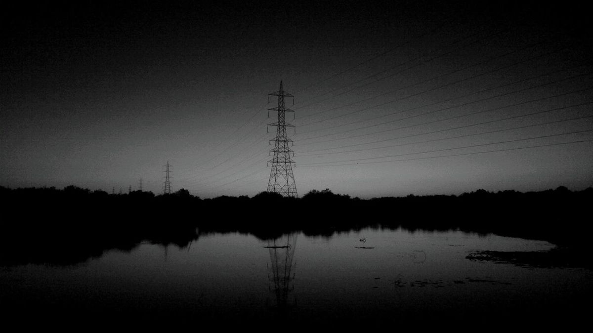 DARKY Beauty In Nature Cables And Knots Cables And Wires Cables_alta_tension Connection Day Electricity  Electricity Pylon Landscape Nature No People Outdoors Reflection Sky Technology Tower Tranquility Water