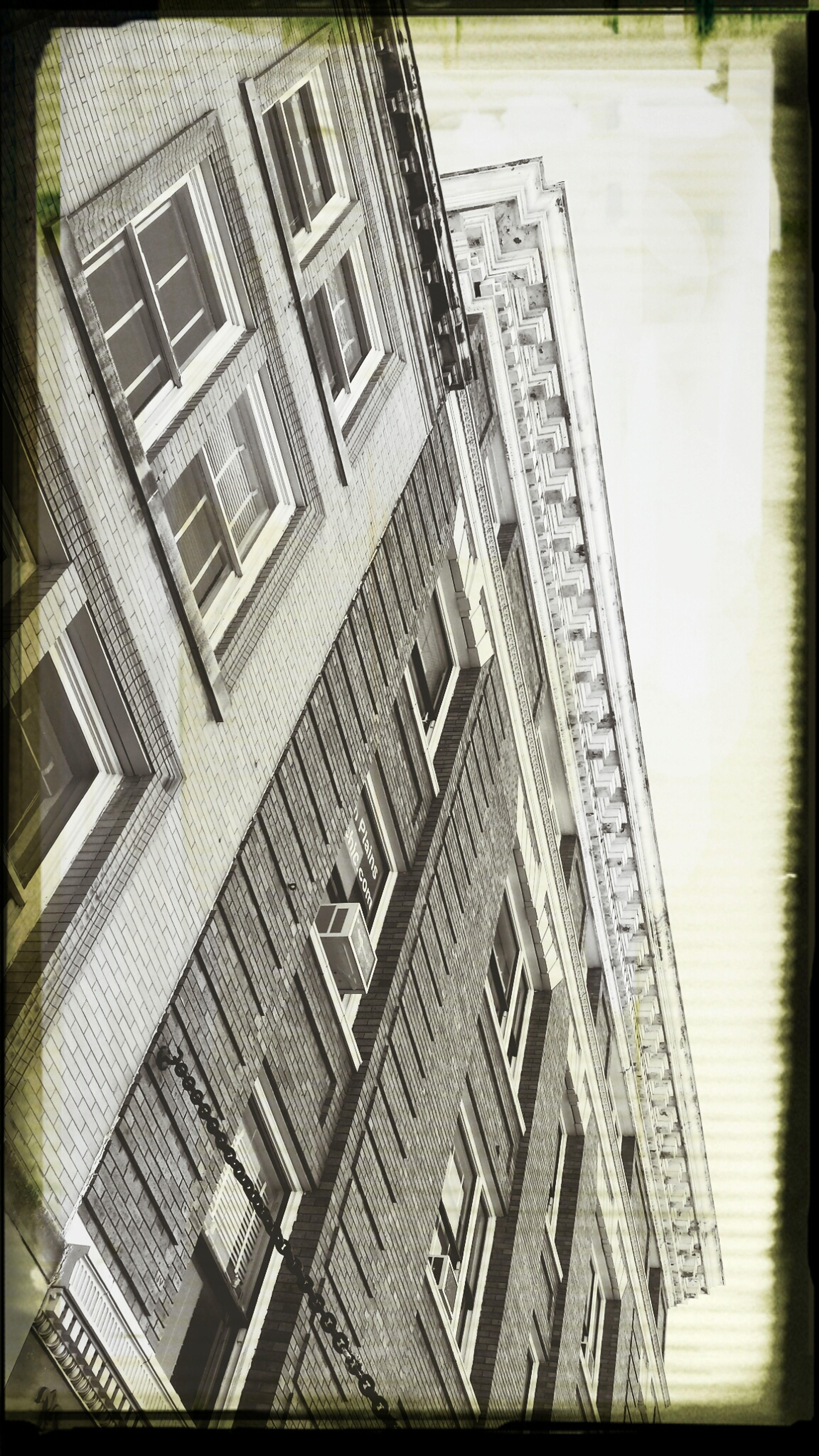 BOB Brick Old Building Lookingup