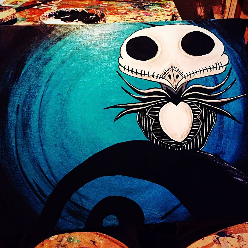 Not Finished Yet... Doghairstudio New Project Jack Skellington Owl Art