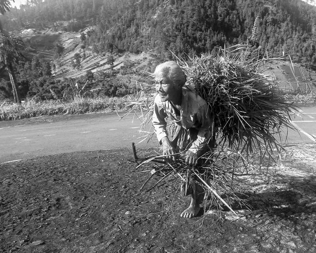 Monochrome Photography Nature Indonesia Culture One Woman Only Indonesia Scenery Indonesian Culture Heritage Cultures