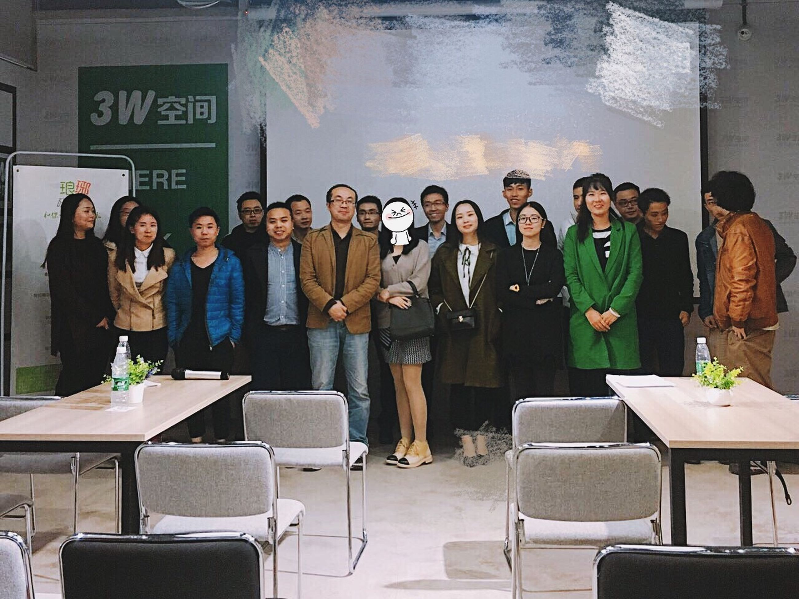 mid adult, mid adult women, business, mid adult men, businessman, business meeting, young women, large group of people, well-dressed, front view, mature adult, standing, colleague, indoors, men, mature women, adult, adults only, businesswoman, presentation, young adult, women, people, coworker, teamwork, conference - event, day, formula