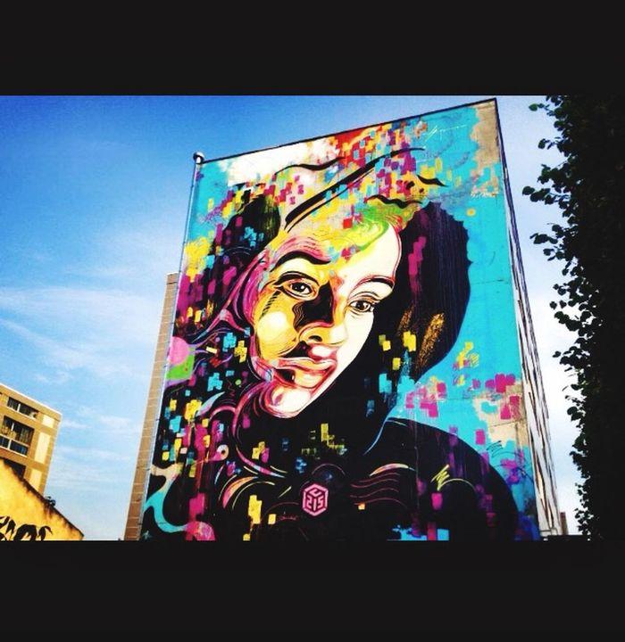 Paris 13 Photooftheday Artist Colors Arte