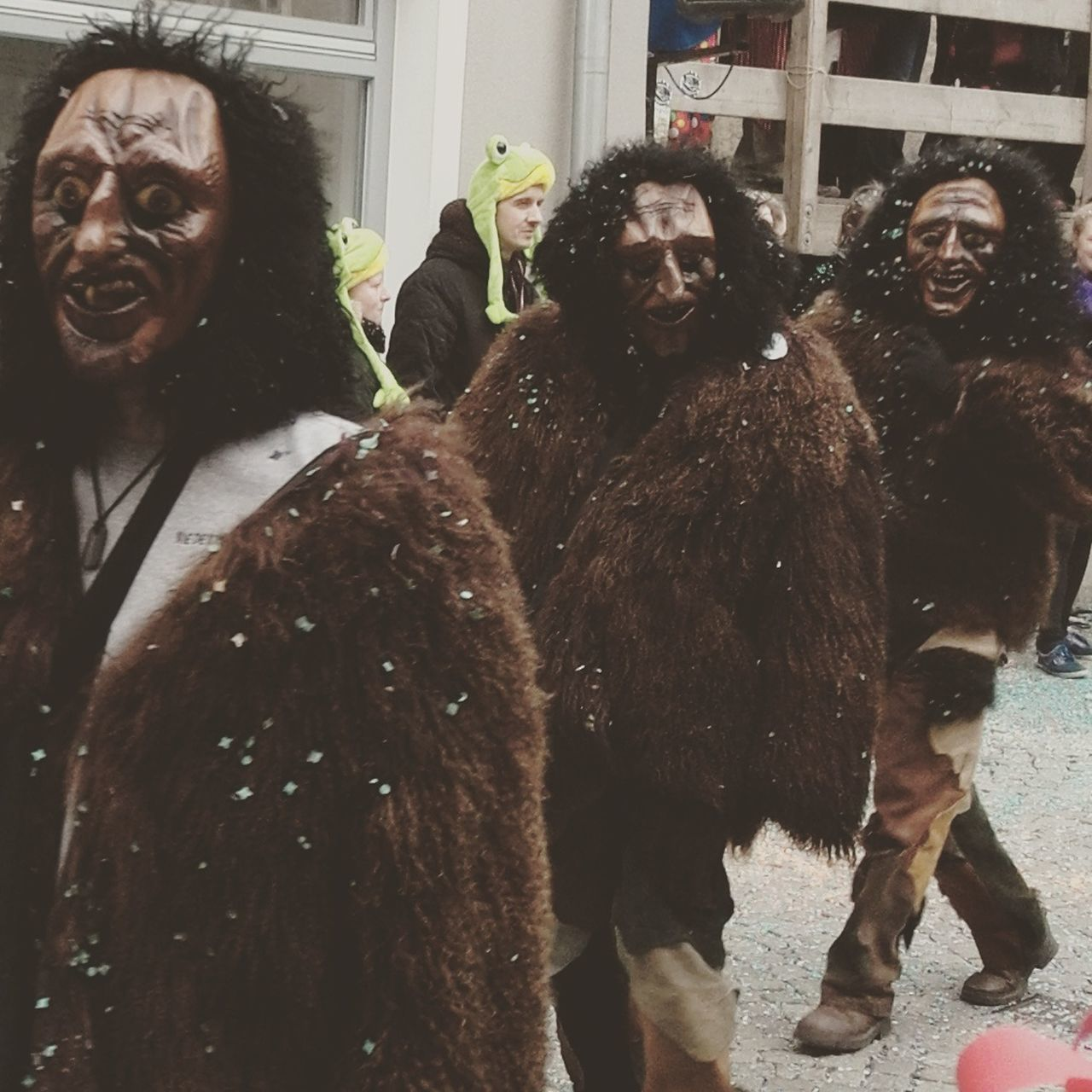 Adult Adults Only Carneval Colors Frightening Indoors  Mask Monster Night Only Men Parade Participant People Scary Traditional Zombie