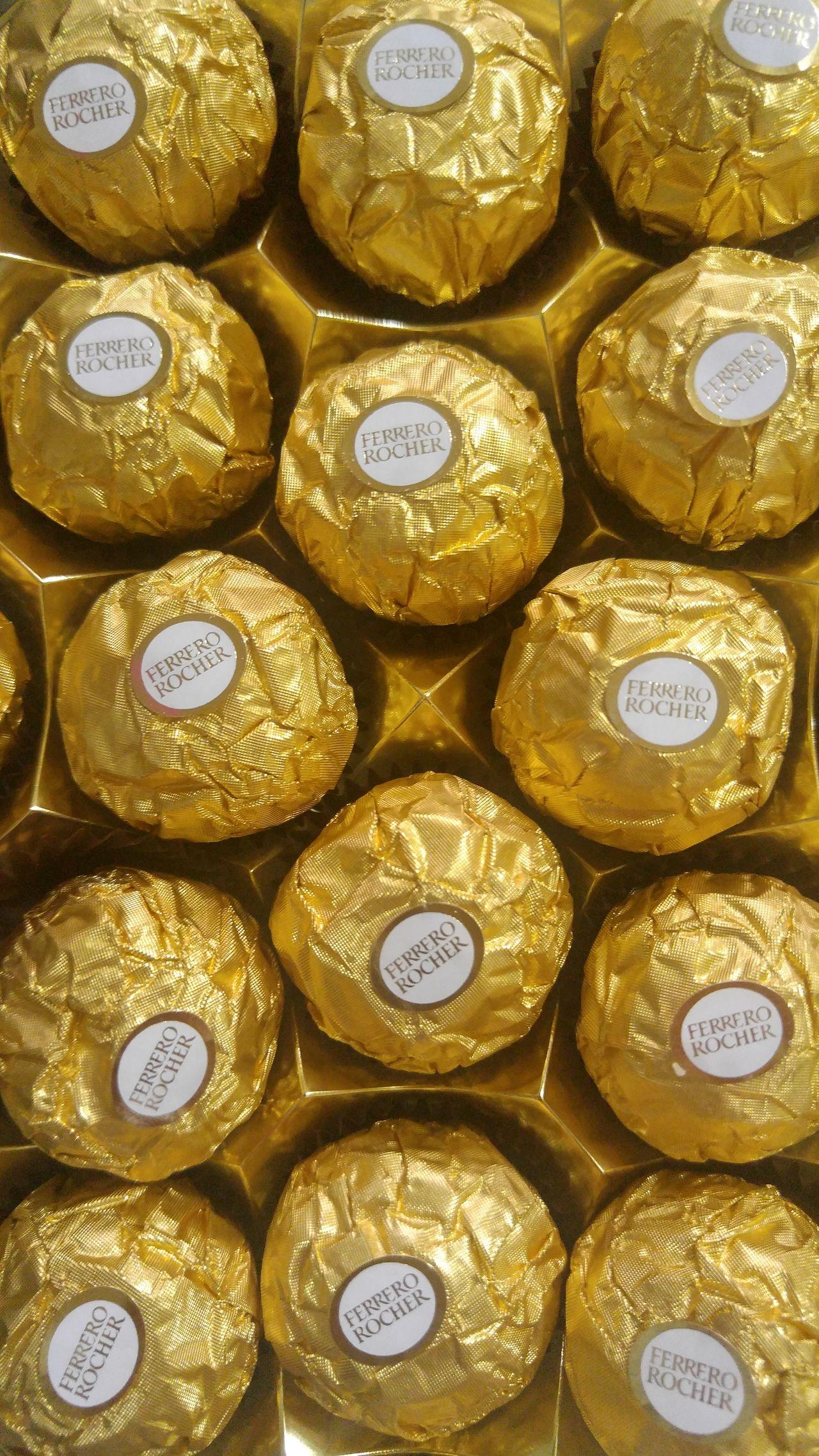Color Palette Chocolates Ferrerorocher Chocolate♡ Delights Tasty EyeEm Eyeemphoto