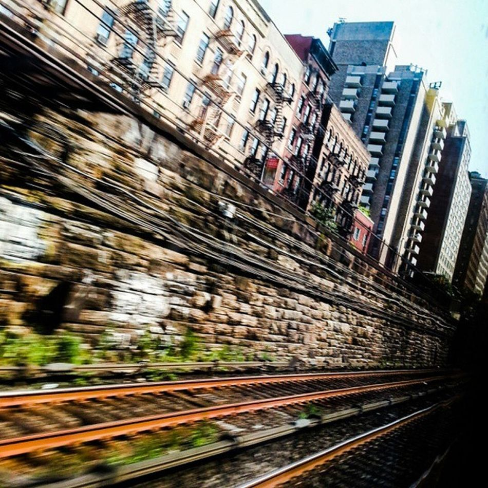 New York City Life. Above At soon Below Park Ave. Rocketing thru Harlem and the UES via Park Ave this GCT bound HL MN Train is about to enter the dark reaches beneath Park Ave. Park Ave UES Manhattan Metronorth Urban Speed NYC manhattan mta newyorkcity