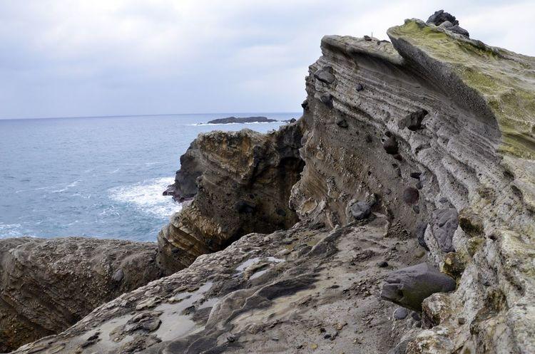 Beauty In Nature Coastline Rock Rock - Object Rock Formation Scenics Sea Water Hualien, Taiwan