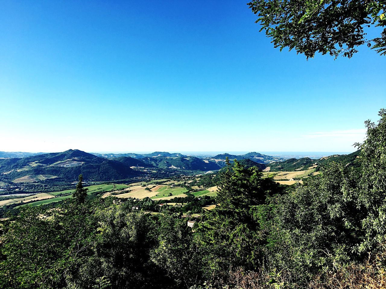 Sanleo Scenics Landscape Emiliaromagna Italy Valley Valmarecchia Montefeltro