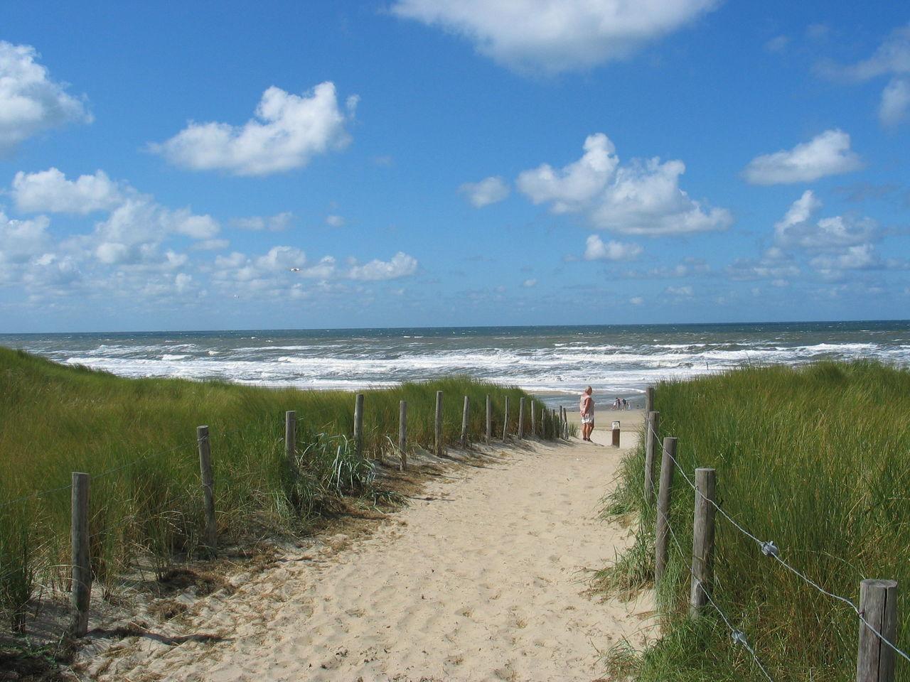 Egmond Noord Holland Sea Coast Meer Kpste Strand Sand Wasser Himmel Sky Dunes Dünen Path Weg Küste Horizon Horizont Breathing Space