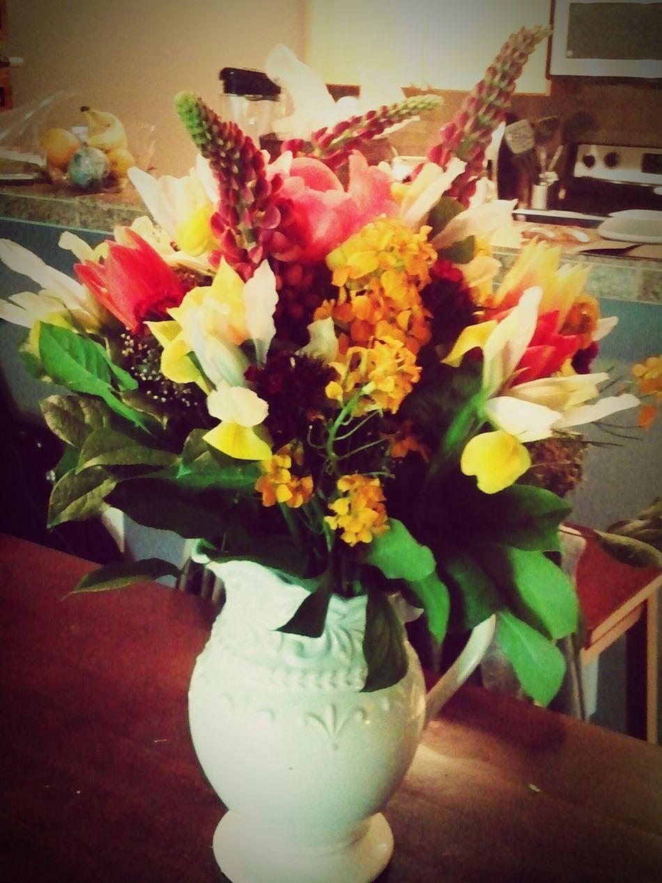 Flowers from Pike's market. Seattleisthebest Myhusbandisthebest