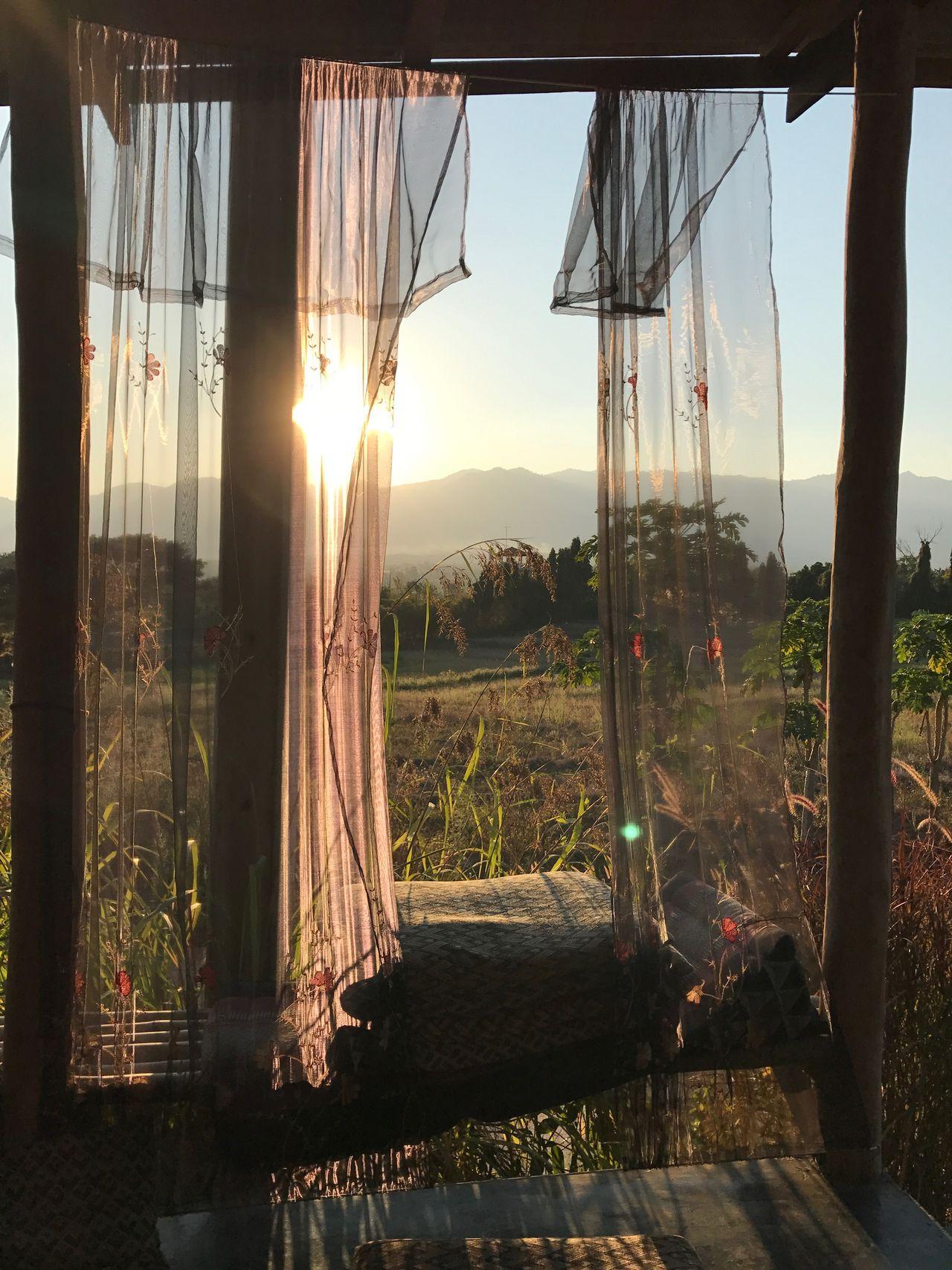 View Chilling Relaxing Shiny Pai Maehongson Thailand