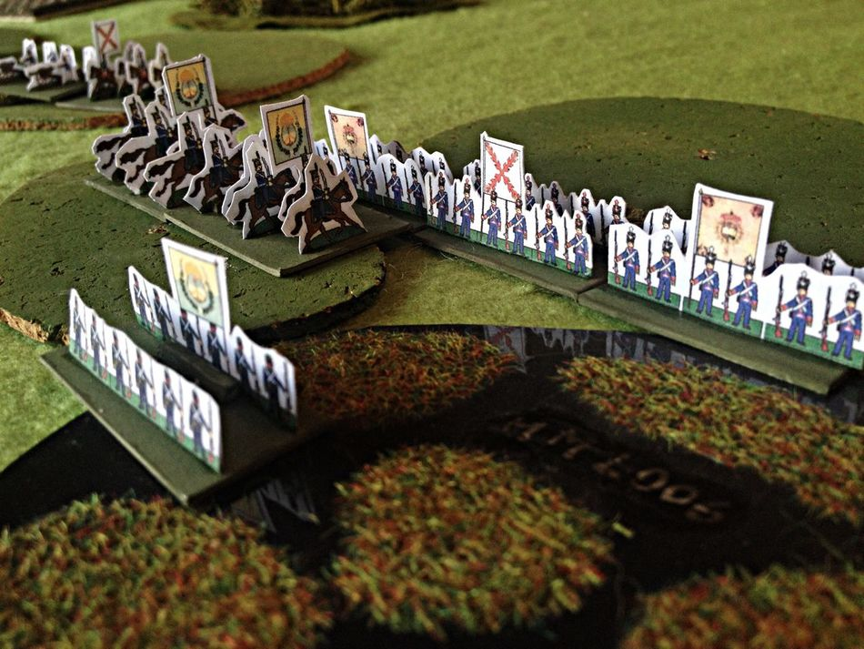 The Battle of Maipo - 1818 - Chile Wargames Hordes Of The Things Paper Models