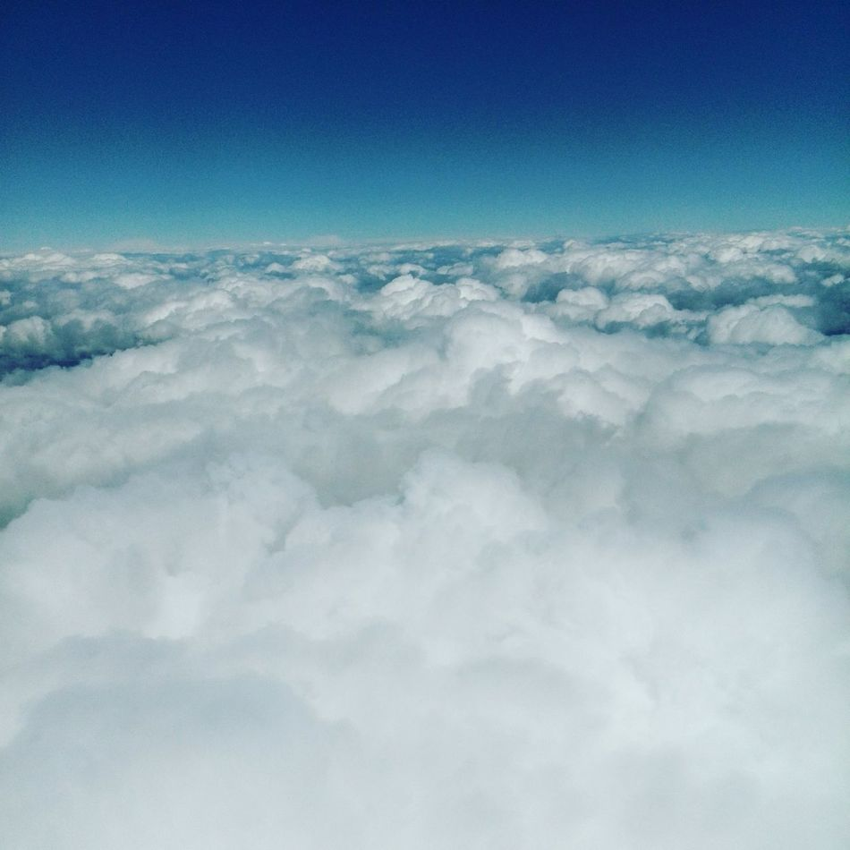 Clouds Cloudporn OverTheClouds Blue Bluesky Blue Sky From An Airplane Window Plane View Freedom Noborder