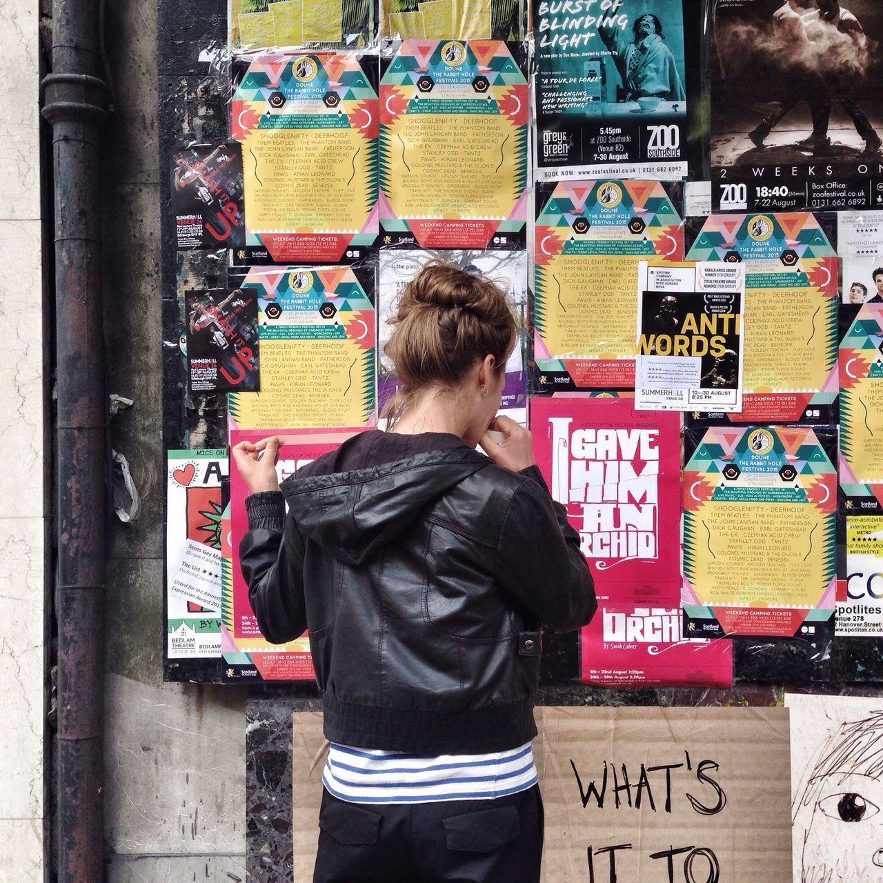 Edfringe Poster Wall
