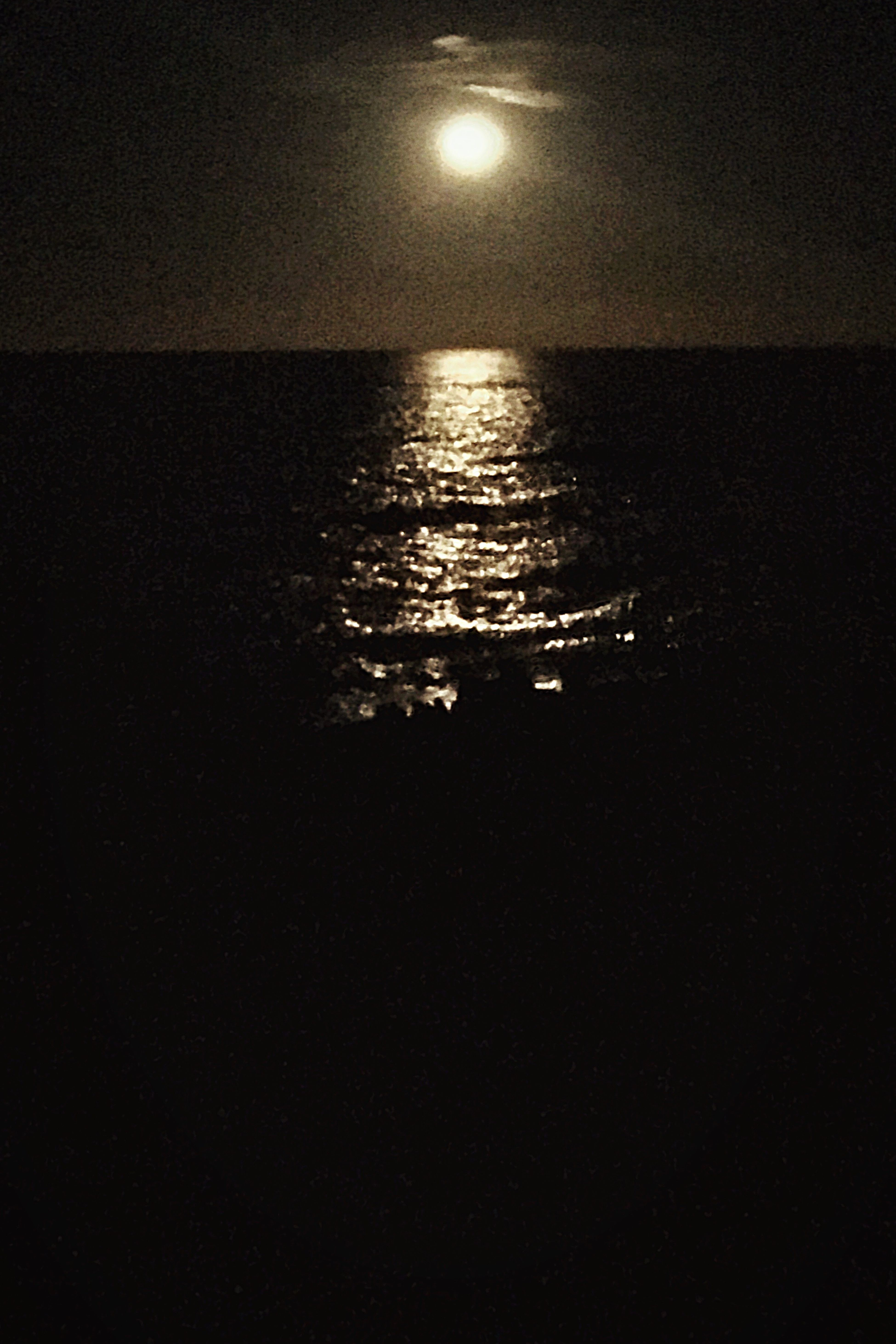 Like an old painting Tranquil Scene Tranquility Beauty In Nature Night Sea Majestic Seascape Moonlight Dark Atmospheric Mood Atmosphere Sardinia Sea And Sky Sardinia Sea Collection Sardinia Seascape Bestoftheday Bestshots Best EyeEm Shot Best Of EyeEm