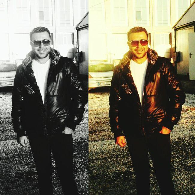 Hadi gülümse biraz.... Sun Turkey Peace✌ Taking Photos Sakallar Black & White Cirkinoldugumubiliyorum Sexyboy Gozler Ankara Kızılay