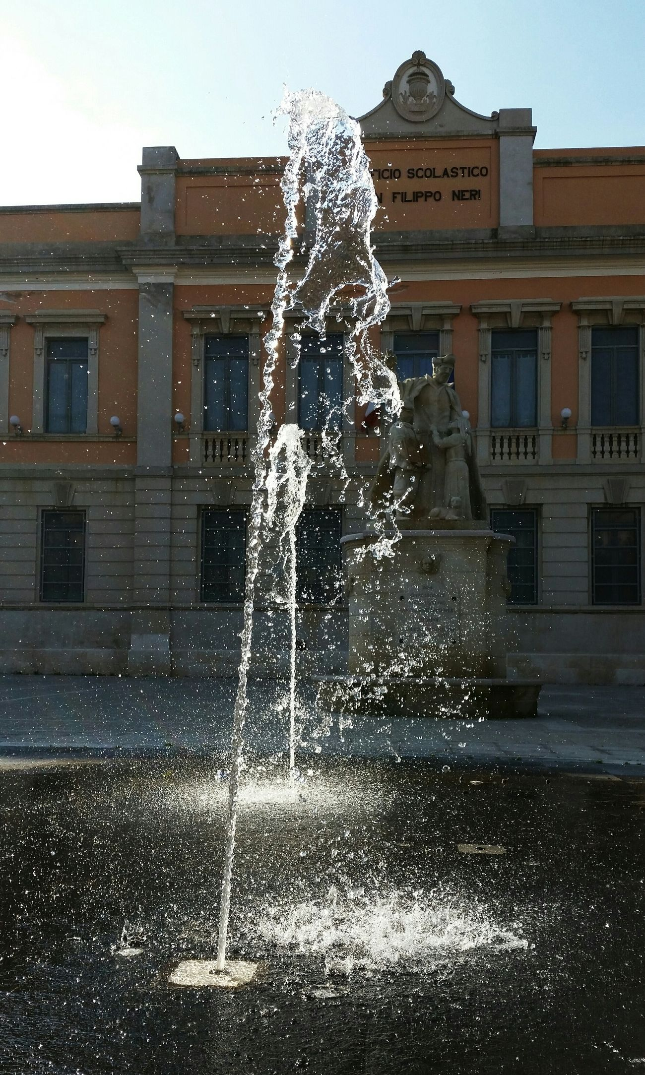 Gioia Del Colle Fountain Water