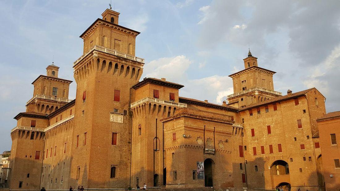 Ferrara Castello Di Ferrara Castello Estense Ferrara's Castle Castle