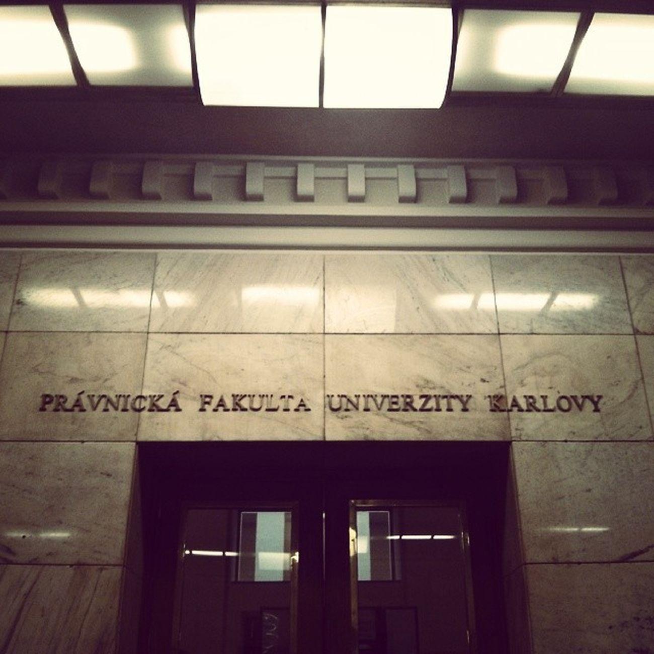 Almamater University Prague Praha law lawschool