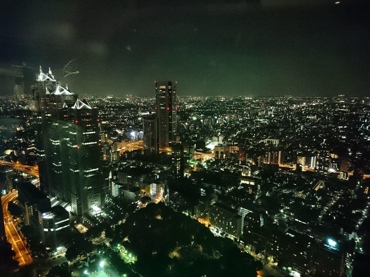Buildings Busy City City Japan Night Night Lights Tokyo View