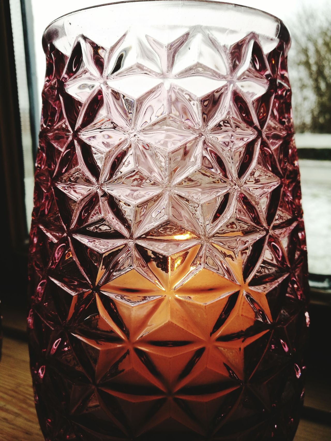 Stars Light Vase Candle Light Softness