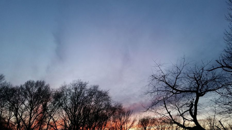 Sunset! No modifications of any kind