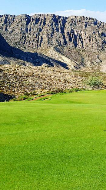 Golfing in the mountains!! Lajitas Texas