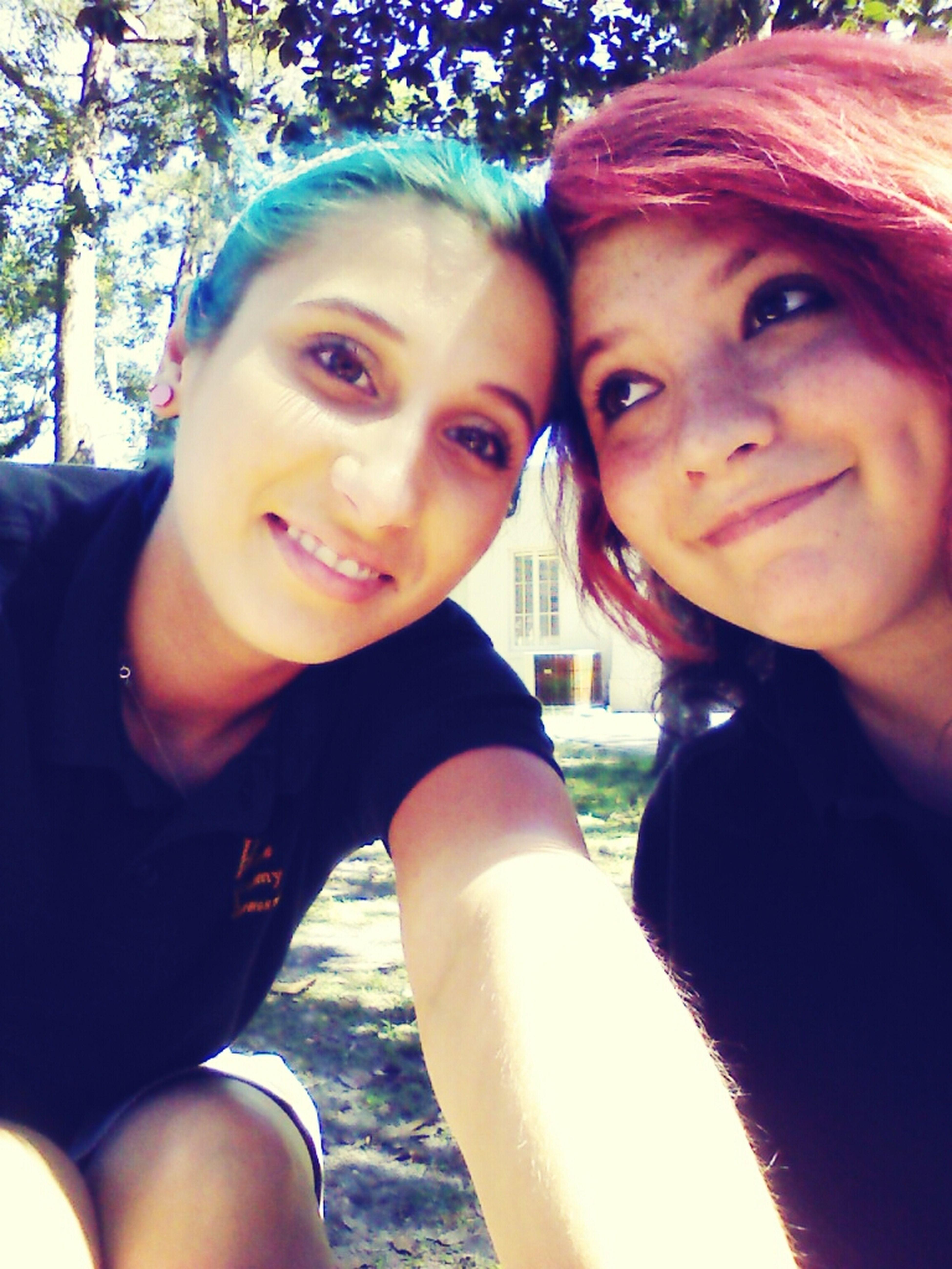 Cuties Haidye Blue Hair Pink Hair