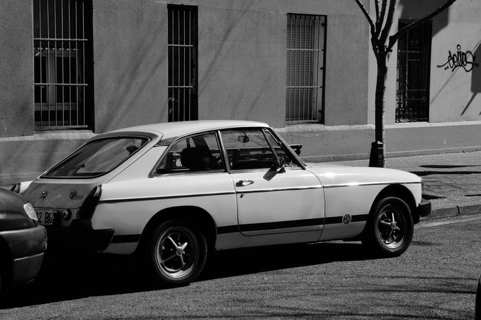 Car Retro Car Vintage Car MGB MG  Nice Car Nice Car In The Street Blackandwhite Photography Black And White Black & White Blackandwhite Black&white Black And White Photography Blackandwhitephotography Blacknwhite Black And White Collection  Black & White Photography Blackandwhitephoto