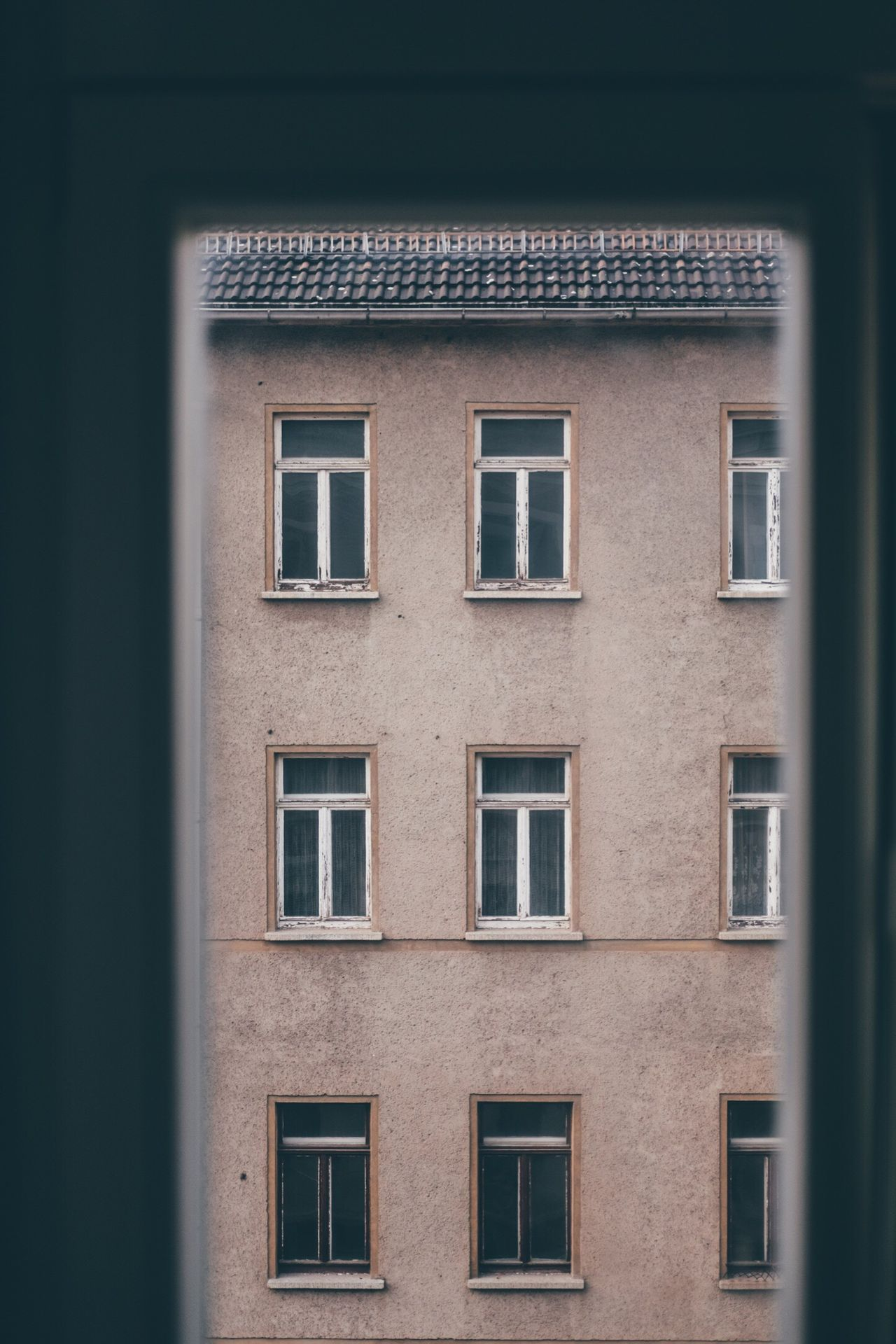 Building Exterior Window Architecture Built Structure Outdoors No People Day Window Look Outside Room POV German