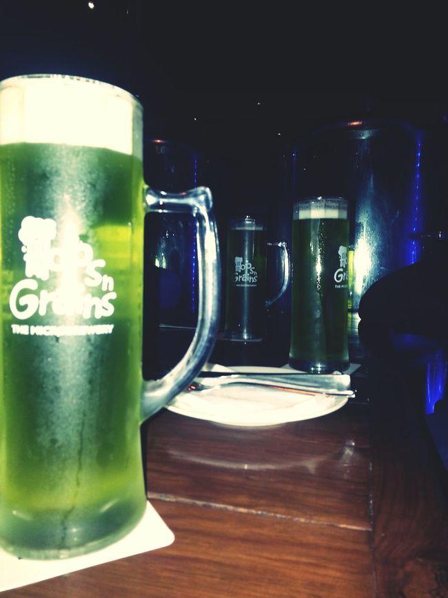 Beer GreenApple Hops N Grain