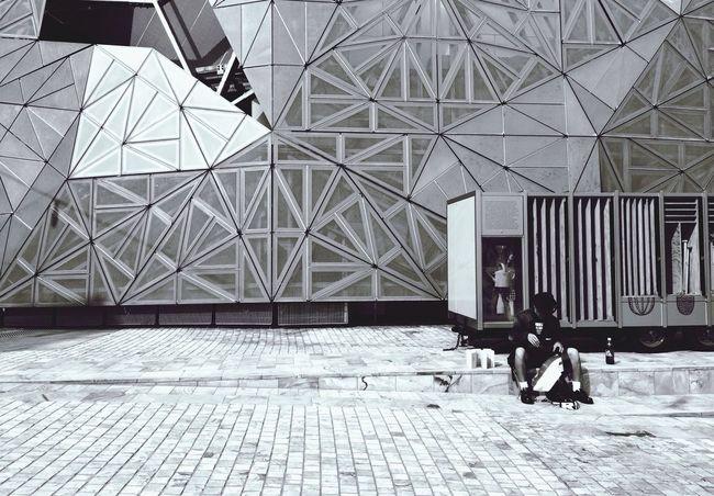 Black And White in Melbourne