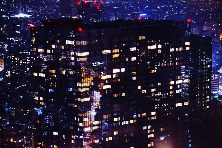 Tokyo Tokyo,Japan Light And Shadow Cityscapes STLSQA Creative Light And Shadow Midnight In Tokyo