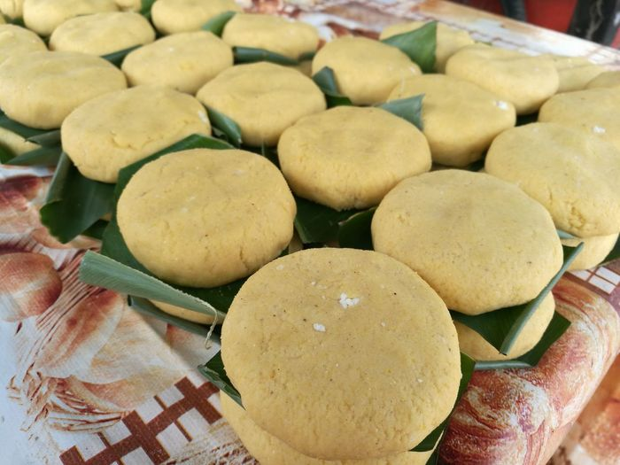 Arepas Arepa Boyacence Food Arepa Colombiana Close-up No People Day Bakery Freshness Healthy Eating Maiz Cuajada