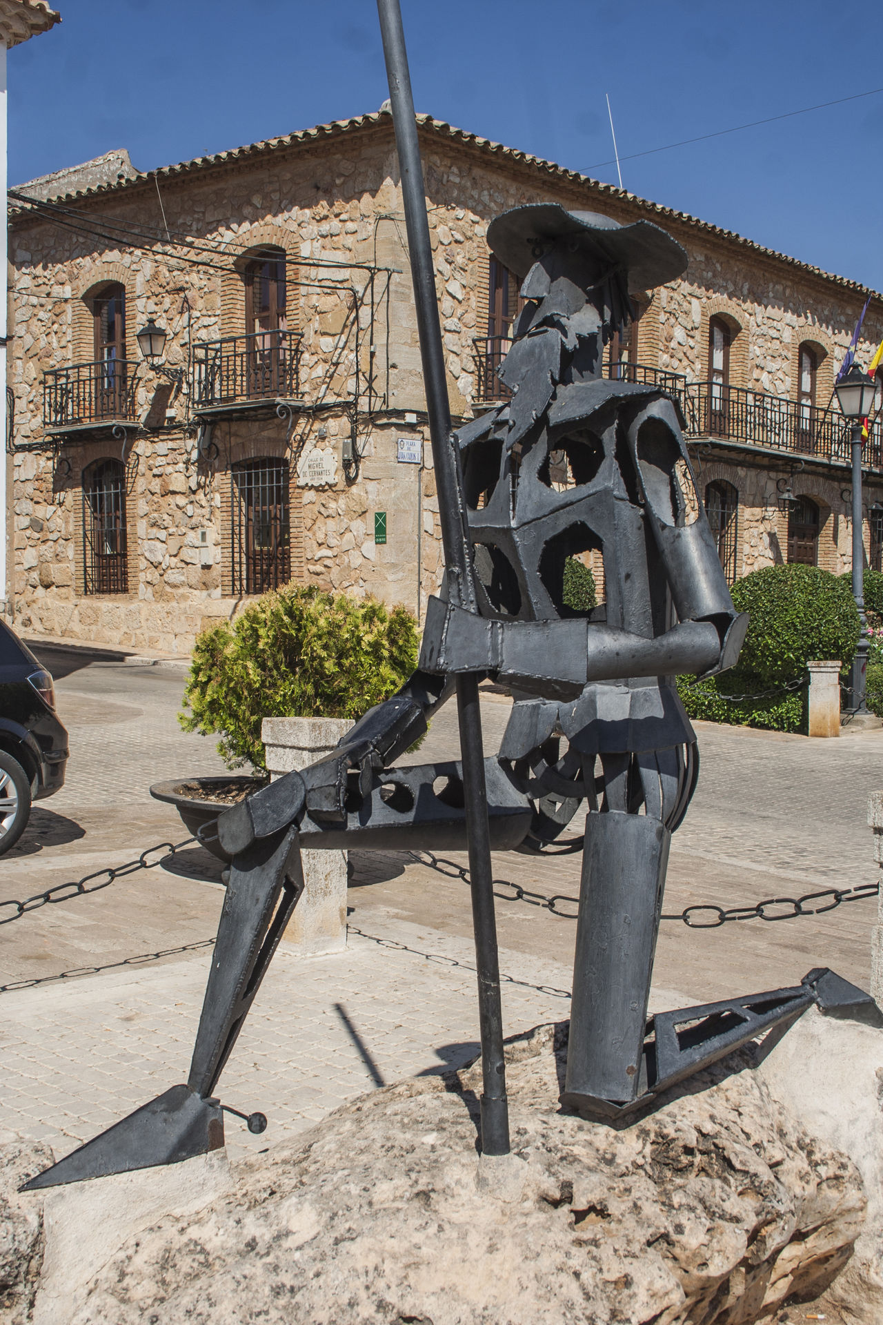 Architecture Building Exterior Built Structure Day Escultura Esculture Estatua Military No People Outdoors Quijote Quixote Sculpture SPAIN Toboso Toledo Spain War