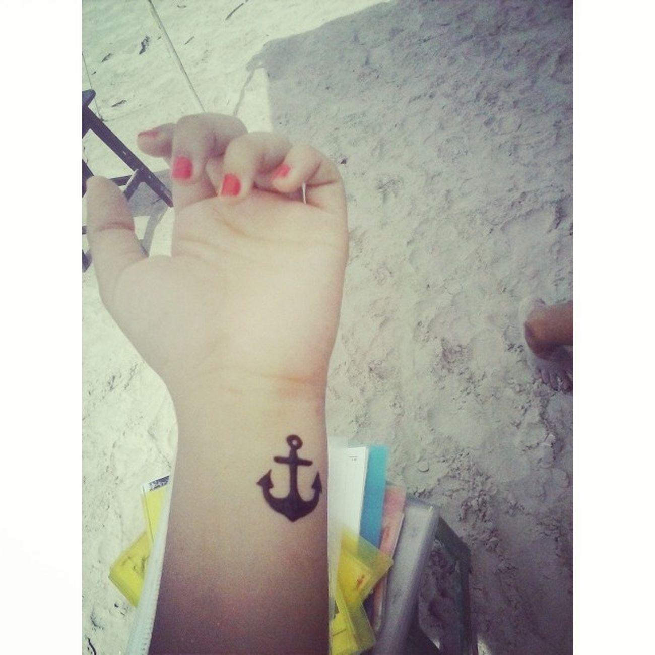 Relaxing Enjoying The Sun Henna Tatto Silhouette
