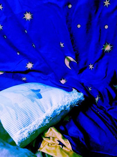 Wonderland Crece Star Blue Pattern Full Frame No People Backgrounds Close-up Day