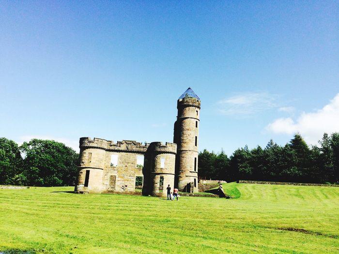 Castle outdoors