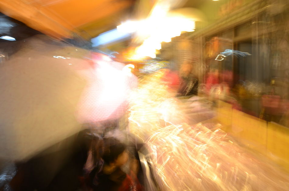 Abstract Photography Blurred Motion Bright Colors Colorful Crowd Illuminated Illuminated Night Light Tracks Night Lights