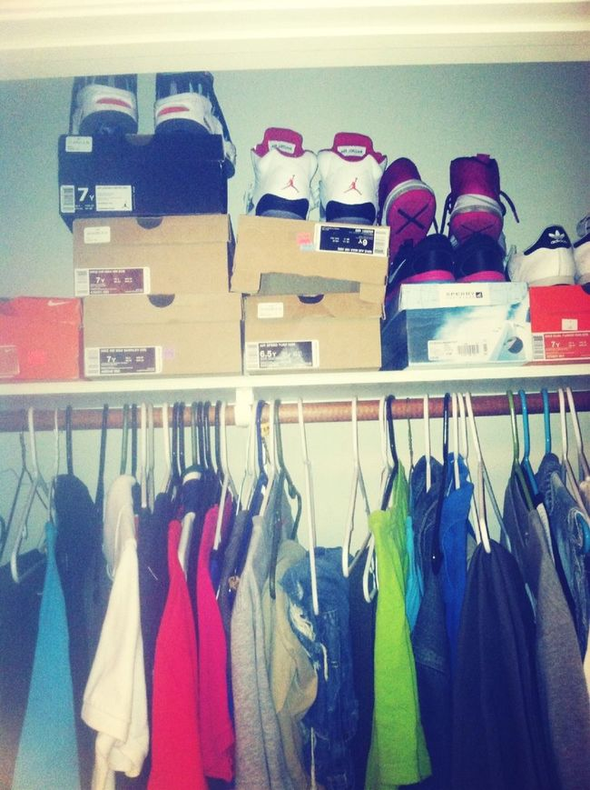 Half Of My Shoes An Clothes